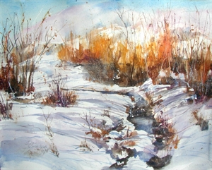 Snow Creek by Diane Stolz