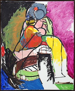 Abstract Woman, 1996