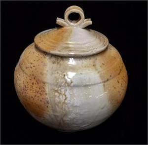 No. 17 Lidded Temple Jar