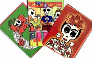 Card - Package of 6 Assorted Day Of The Dead