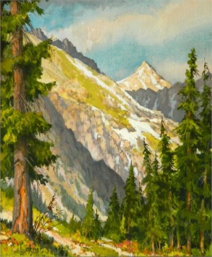 Crystal Peak, Across Valley