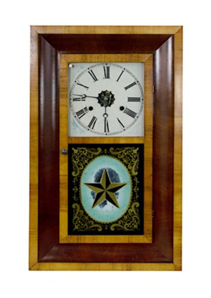 30 Hour Clock.  Manuf:  Jerome & Co.-New Haven, CT, 1872
