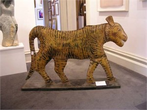 Thailand Folk Art Tiger, c.1940