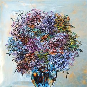 Floral- Hydrangea W/Vase 186195, 2019