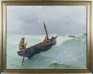 Fishermen, Late 19th Century