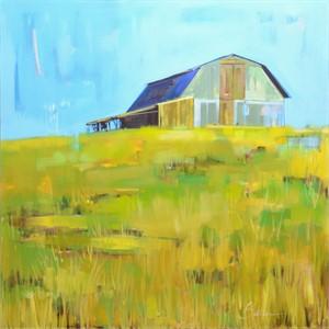 Glimpse of a Barn