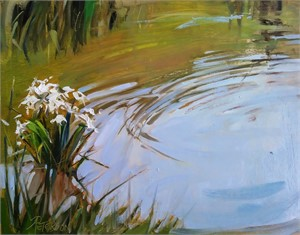 Cahaba Lilies and Ripples