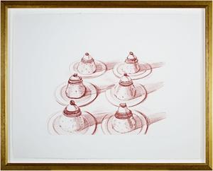 Italian Desserts by Wayne Thiebaud