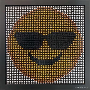 Emoji Screw Series - Smiling Face With Sunglasses