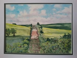 Shadows on the Flint Hills by Kathleen Cobb