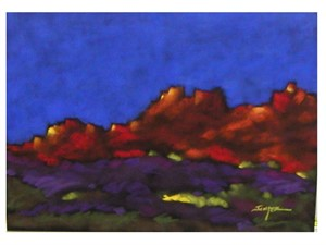 Remembering the Red Rocks 22.5x28