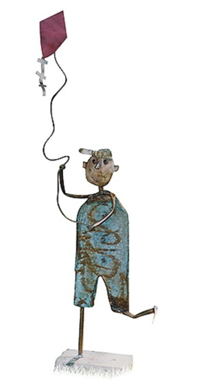 Boy Flying Kite, 2004