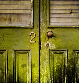 Doors In Green (Edition 10)