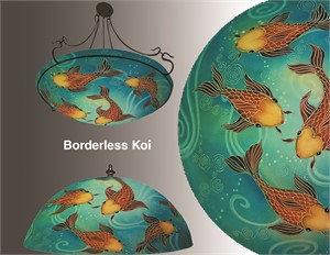 "Display Koi Borderless 24"" Ring - S"