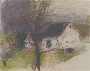 The Weber's House, Deer Isle, 1963