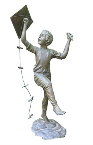 Boy With Kite, 2001