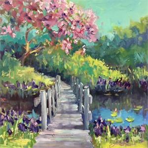 Island Path by Linda Richichi