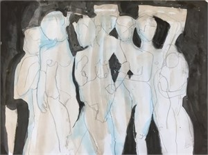 Figure Drawing #30, 2018