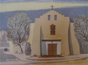 A Santa Fe Church