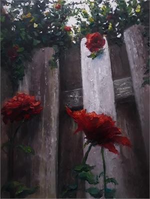"VANESSA WITHUN, ""Climbing Roses"""