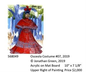 Osceola Costume #7, 2019