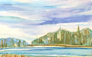Skipping Rocks - Jackson Hole, WY, 2020