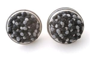 Button Earrings 133
