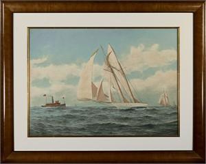 Sailboat, c.1900