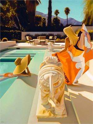 Chit Chats at the Abernathy Residence (SN) by Carrie Graber