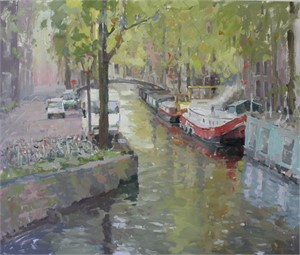 The Amsterdam Village Canal