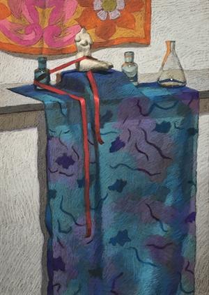 Tangled up in Blue by Melissa Hefferlin, OPA