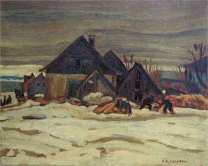 Winter Village, Lower St.Lawrence