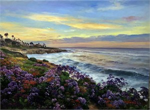 Purple Stattice of La Jolla
