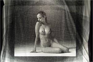 Seated Nude, 2015