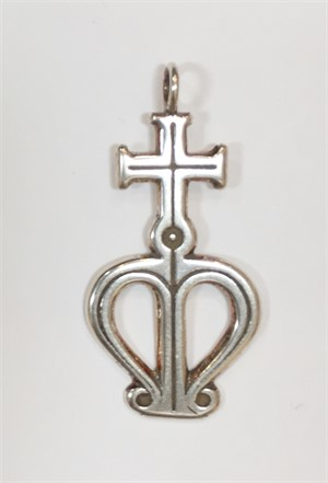 Pendant - Silver Cross Of Our Lady, 2019