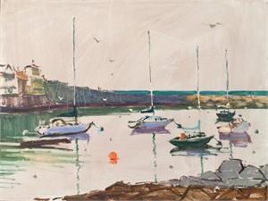 """""""Be Still My Heart"""" - Rockport Harbor"""