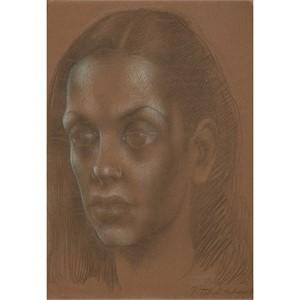 PORTRAIT OF BACHOO DINSHAW, 1946
