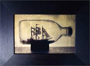 Ship in bottle   (1/20), 2018