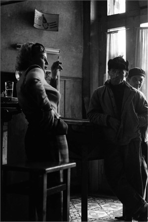 No. 238 Girl in Bar, Antwerp, Belgium, 1951