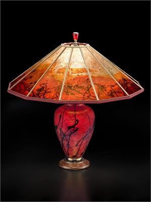 Phoenix Rising Small Lamp-S