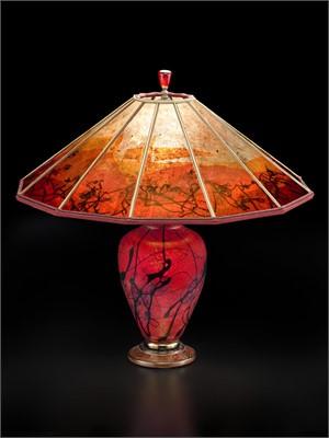 Phoenix Rising Small Lamp-S