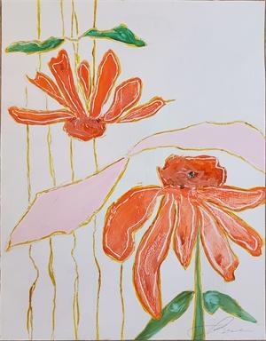 Echinacea Garden II, 2020