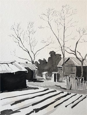Winter Shadows in Africatown, 1967