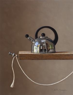 Teapot with String by Scott Fraser