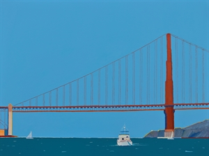 Golden Gate Passage by Timothy Mulligan