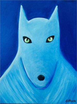 SINGLE ARCTIC WOLF, 2019