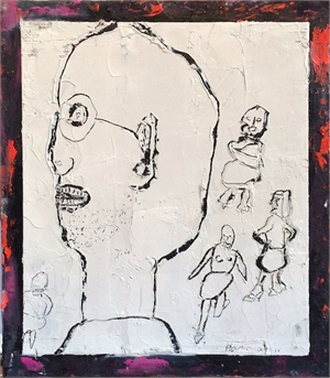 Bespectacled Man, 2011