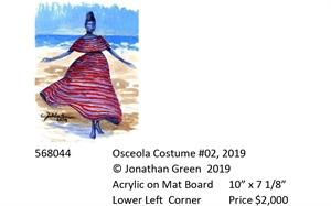 Osceola Costume #2, 2019