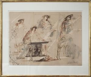 Les Miroirs du Peintre, EA, c1973