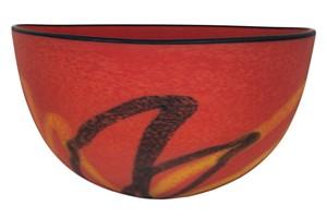 Red Matte Bowl, 2005